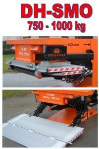 nakladalna ploščad DH 750-1000kg